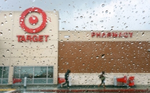 #1 Target store, Frederick J. Brown:Agence France-presse, DallasNews.com